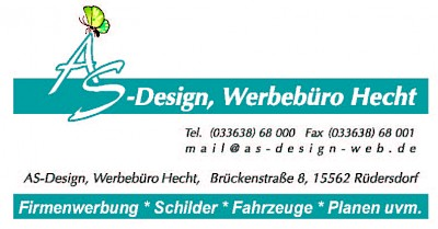 AS-Design, Werbebüro Hecht